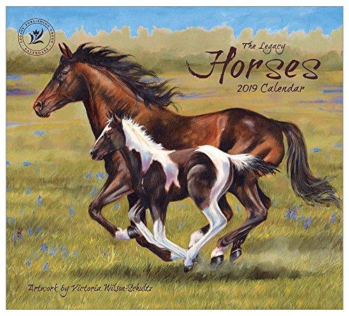2019 Wall Calendar, Horses Calendar