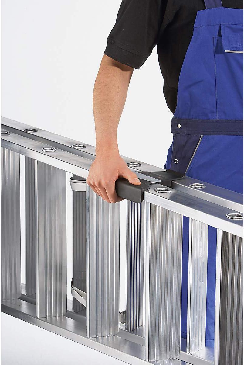 GB Aluminium-Stehleiter clip-step 2x3 Stufen beidseitig begehbar