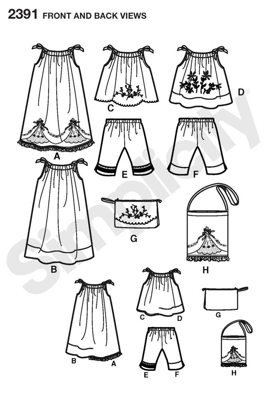 Wunderbar Free Printable Dress Sewing Patterns Ideen - Strickmuster ...