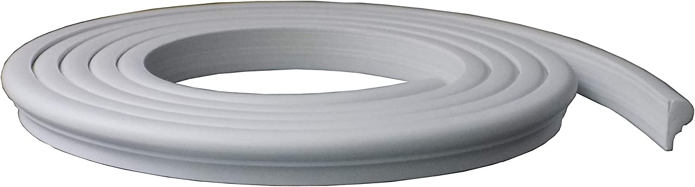 Zhangbl Flexible Moulding Trim Ceiling Wall 0.87 inch (2.2cm) Width x 0.47