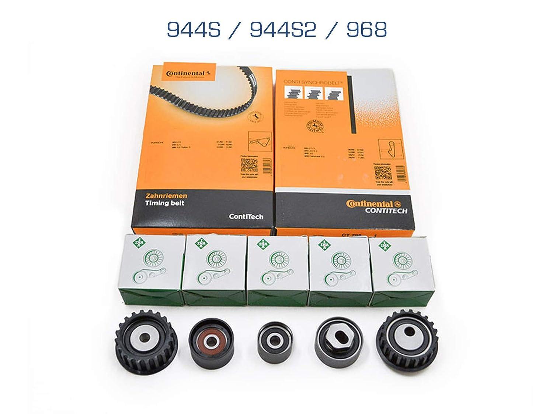 partworks - Correa de distribución para 944s y 944s2 correa dentada/Rueda/ Cambio/Rodillo Tensor: Amazon.es: Coche y moto