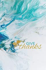 Give Thanks | Abstract Design: Develop a Lifestyle of Gratitude (21/90 Rule) Paperback
