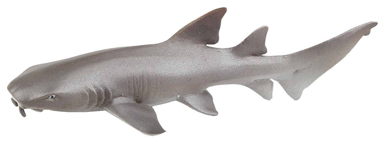 Safari Ltd Wild Safari Sea Life Collection Great White Shark and Safari Ltd Wild Safari Sea Life Collection Nurse Shark Bundled by Maven Gifts Safari Ltd.
