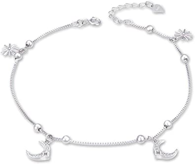bracelet femme argent cheville