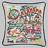 Catstudio Oklahoma Pillow - Original Geography Home Décor 046(CS)