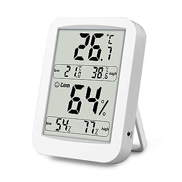 Termómetro Higrometro Digital con Interior Monitor de Humedad Temperatura con Medidor de Humedad Temperatura (#2): Amazon.es: Bricolaje y herramientas