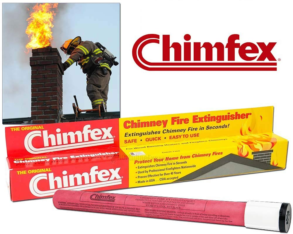 The Original Chimfex Chimney Fire Suppressent Stick 3412 by Chimfex®