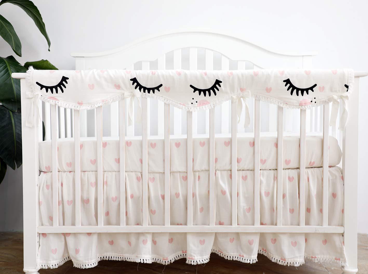 Crib Wrap For Nursery Baby Crib Crib Protector From Chewing Crib Rail Teething Guard Long Rail Cover X 1 Trojan Horse Sahaler Crib Rail Cover Rail Covers