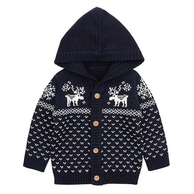 T.boys_Kids Clothes - Abrigo para la Nieve - para niño Azul Azul Oscuro 90