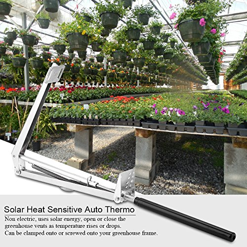 - Auto Vent Opener Automatic Greenhouse Vent Opener with Solar Power Sensor and Controllor