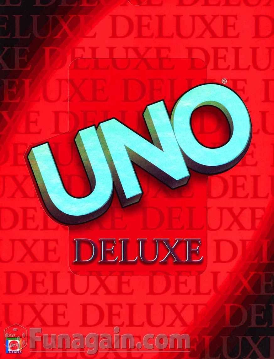 Mattel Uno Deluxe 43427 by Mattel