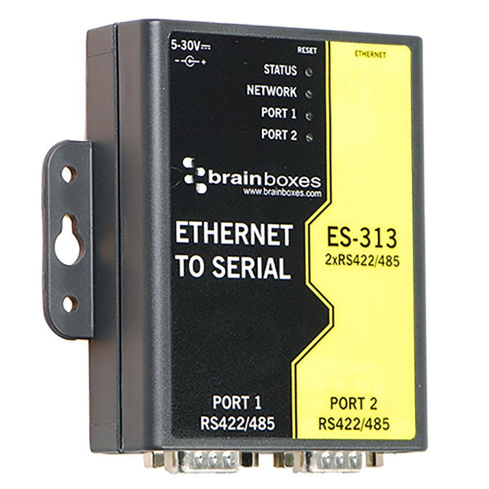 Brainboxes ES-313 2PORT RS422/485 ETHERNET TO SERIAL DEVICE SERVER 1 MEGABAUD