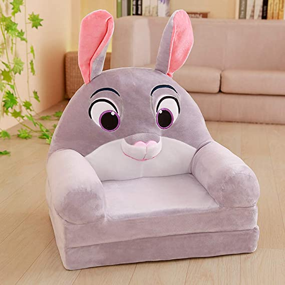 DW&HX Felpa Animal Sillon Infantil, Plegable Lindo Cartoon ...