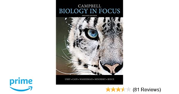 8039fc8f2 Amazon.com: Campbell Biology in Focus (2nd Edition) (9780321962751): Lisa  A. Urry, Michael L. Cain, Steven A. Wasserman, Peter V. Minorsky, Jane B.  Reece: ...