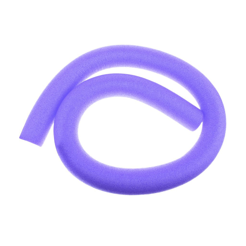 Homyl Lightweight Water Floating Swimming Pool Noodle Solid Core Swim Float Buoy Training Aid Gear Accessories Choose Colors