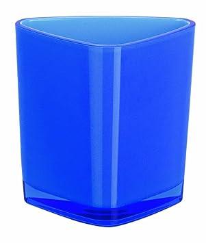 Spirella 10.15478 Trix - Vaso para cepillos de dientes (acrílico), color azul: Amazon.es: Hogar