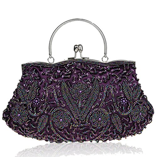 purple Belsen Clutch Red Belsen Women's Red Women's 1YxdOqRxw