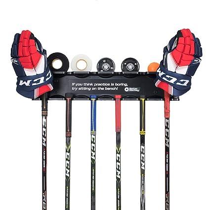 Amazon.com: Better Hockey Extreme Stick Rack – Obtenga sus ...