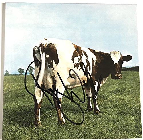Roger Waters signed pink floyd album atom heart mother lp with coa