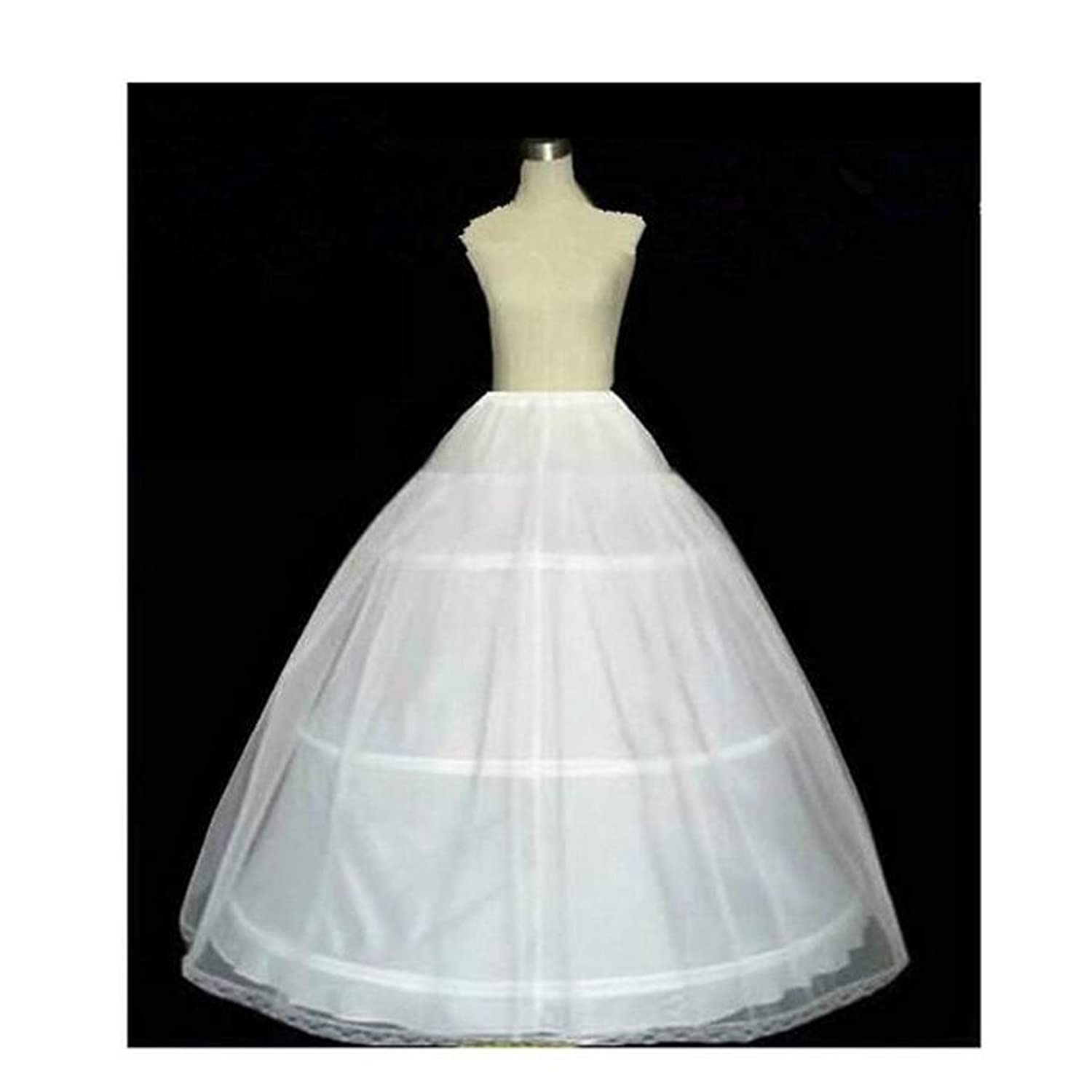 203e76ec27bf1 Fair Lady 3 Hoop Ball Gown Full Crinoline Petticoat For Women