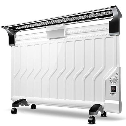 Heater GJM Shop Ultrafino Calentador De Radiador De Aceite 2200W Sobrecalentar & Protección contra Volcaduras con