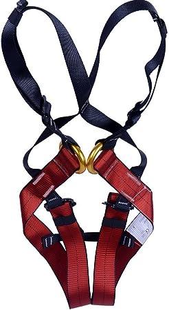 Arneses Escalada Niños en Roca Busto Cinturón Arnés de Seguridad Bebé Unisexo Cinturón Senderismo Equipos de Rappel Ajustable al Aire Libre de ...