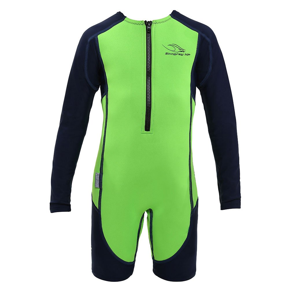 Aqua Sphere Stingray Long Sleeve Wet Suit, Green Long Sleeve, 2 by Aqua Sphere