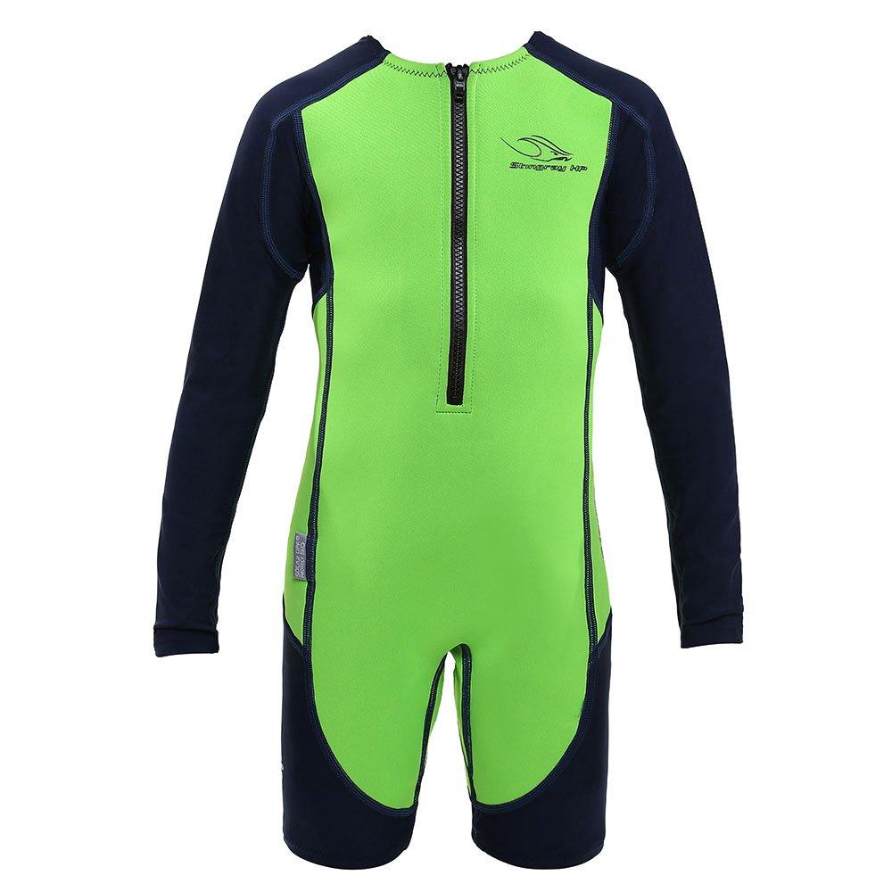 Aqua Sphere Stingray Long Sleeve Wet Suit, Green Long Sleeve, 6