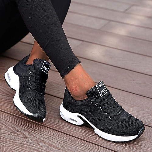 Damen Sneaker Sportschuhe Turnschuhe Laufschuhe Freizeit Schuhe Neu Pink 17247