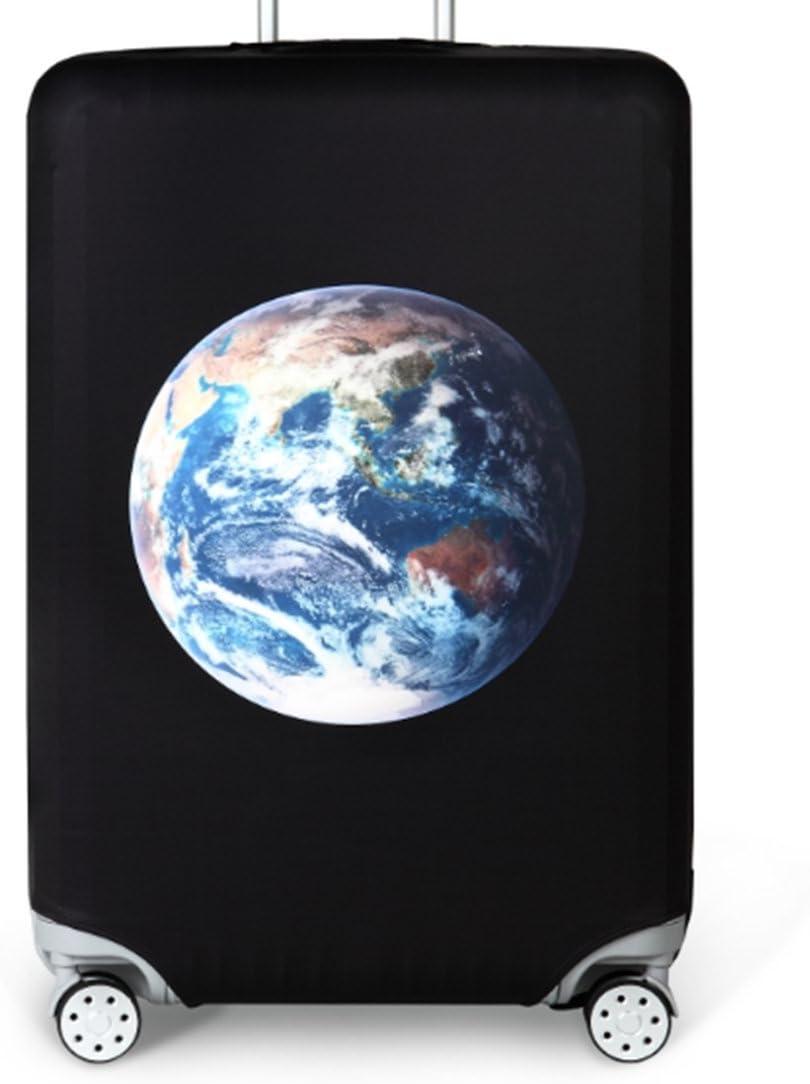 Bestja Elástico Funda Protectora de Maleta Luggage Protective Cover, Lavabile Viaje Equipaje Cubierta Carretilla Caso Protectora Cubierta Cabe 18-32 Pulgadas Equipaje (Terra, L)