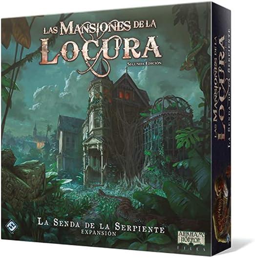 Fantasy Flight Games-Las Mansiones de la Locura-La Senda de la Serpiente, Color (FFMAD28): Amazon.es: Juguetes y juegos