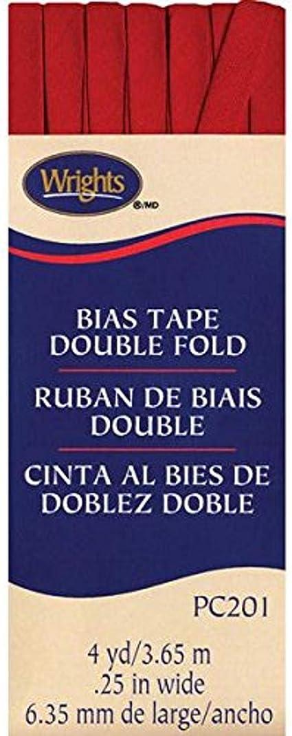Wrights//Boye Single Fold Bias Tape 1//2 x 4 Yard Turquoise