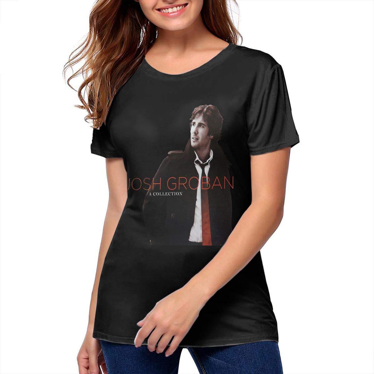 Josh Groban A Collection Stylish Music Band Short Sleeves T Shirts