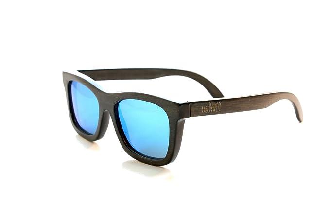 RawWood Gafas De Sol Madera Polarizadas Originales De Bambú Natural Smoke   Amazon.es  Ropa y accesorios e51ba085c231