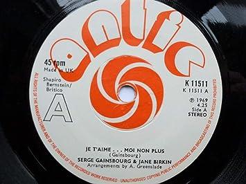 Birkin, Jane & Serge Gainsbourg Je T'aime 7