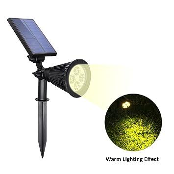 Solar Power Led Effect Lichtsteuerung Wandleuchte Wasserdicht Outdoor Weißes De Lampen & Licht