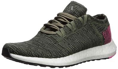 a1200c868 Amazon.com | adidas Unisex Pure Boost Go Running Shoe, Base Green ...