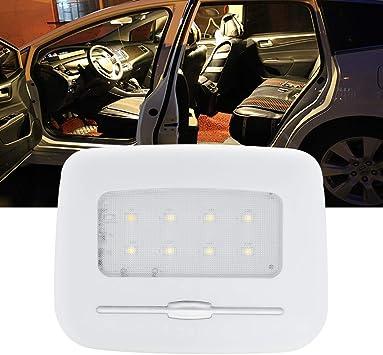 Bogao Led Innenraumleuchten Für Den Innenraum Heckleuchten Auto Leseleuchten Plattenlichter Wenig Nachtlicht Türlichter Adjustbale Helligkeit Warmweiß 3000k Auto