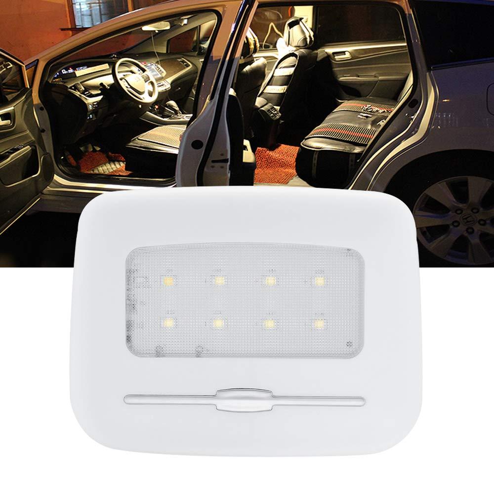 Lumières de dôme intérieur de voiture Ahevo LED, boîte de queue, lampes de lecture de voiture, lampes de plaque, petite veilleuse, éclairage de porte, luminosité Adjustbale - blanc chaud, 3000K boîte de queue
