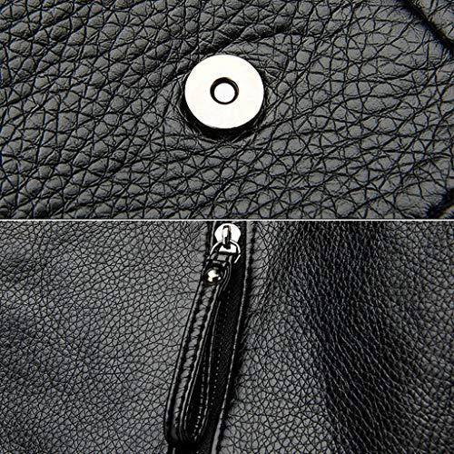 4 Shoulder Girl School Bag 4 Crossbody Rucksack Backpack Handbag Women Shoresu Travel Lady wPpqFq0R