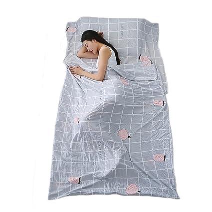 220 x 120 cm, funda hipoalergénica para saco de dormir, portátil, piña de dibujos animados, sábana ...
