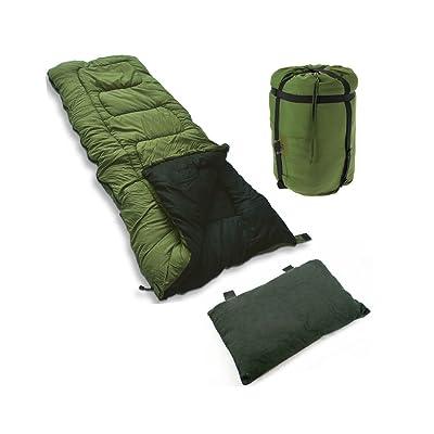 5saisons Sac de couchage avec oreiller haute TOG