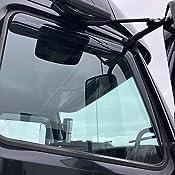 For Volvo VNL 2003-2019 Belmor In-Channel Smoke Ventvisors