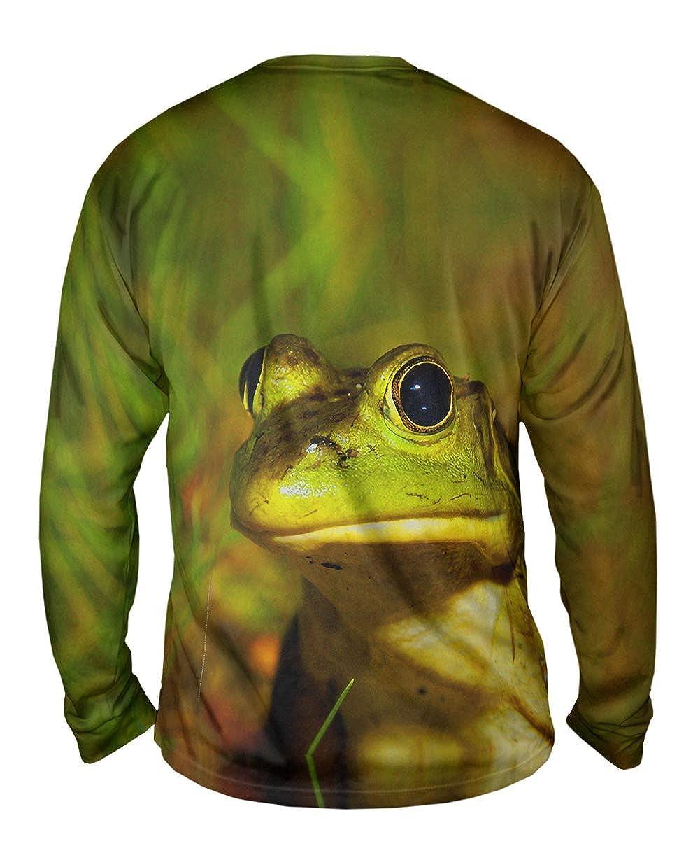 Yizzam Lively Bull Frog Mens Long Sleeve TShirt