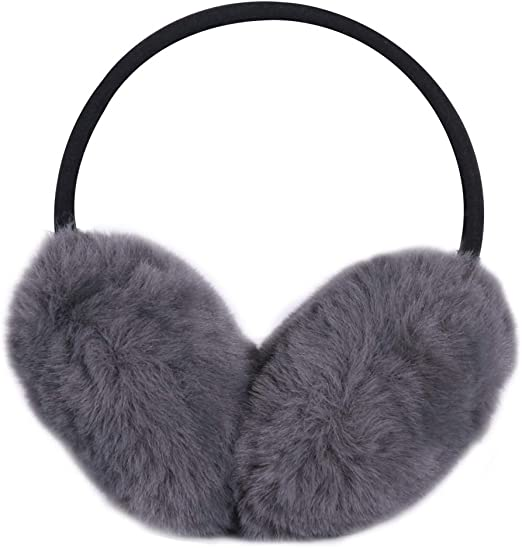 LILYFUR Ears Covers for Winter, Unisex Earmuffs Faux Fur Ear Warmers  Classic Earlap Outdoor Ear Protection For Sports and Personal Care, Dark  Grey at Amazon Women's Clothing store