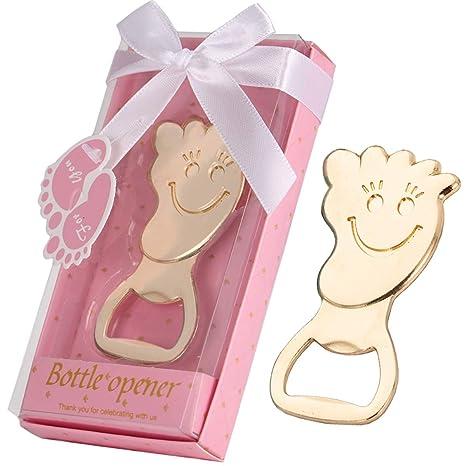 Amazon.com: 36 abrebotellas de huella de mano para bebé con ...