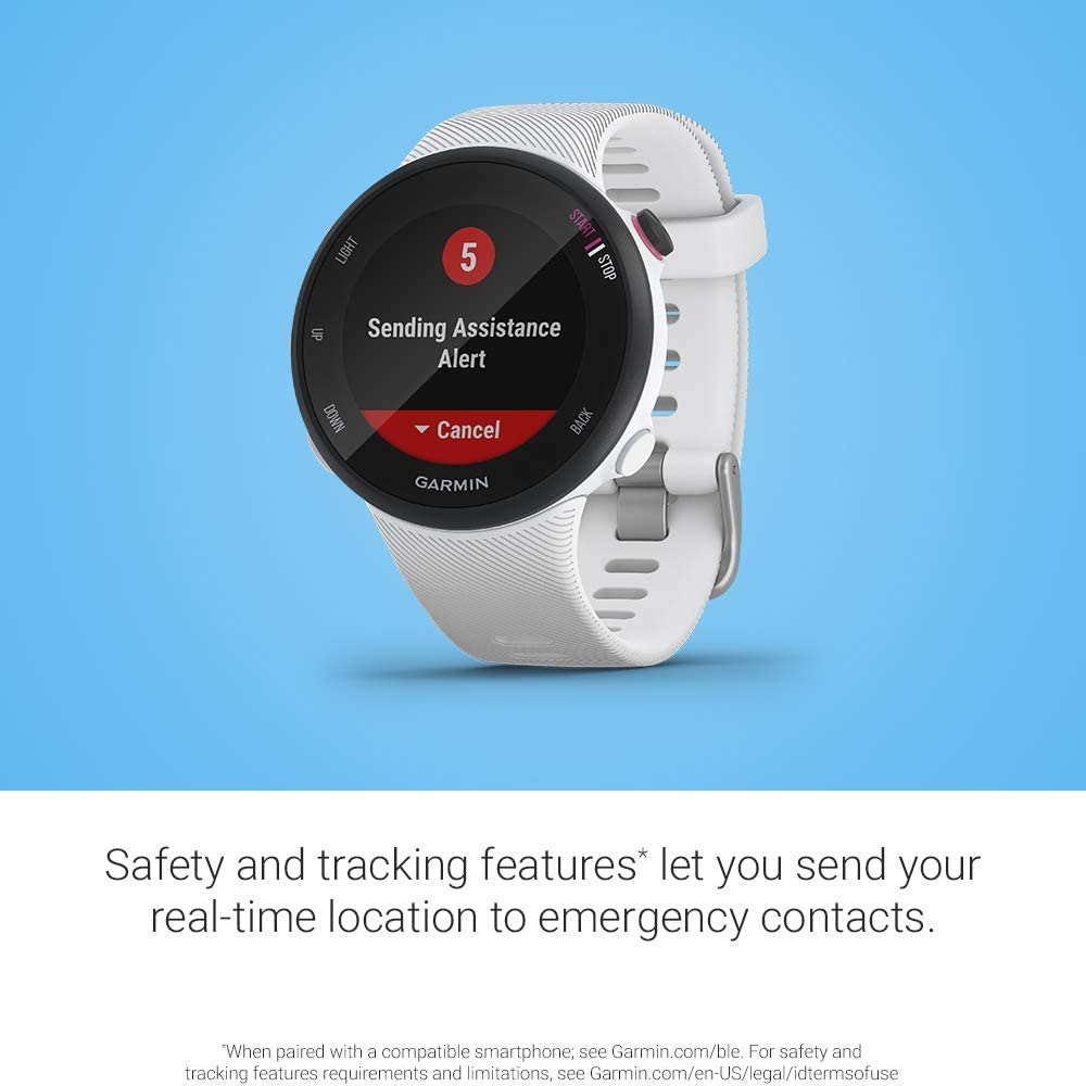 Garmin Forerunner 45S/P - Reloj Multisport con GPS, Tecnología ...