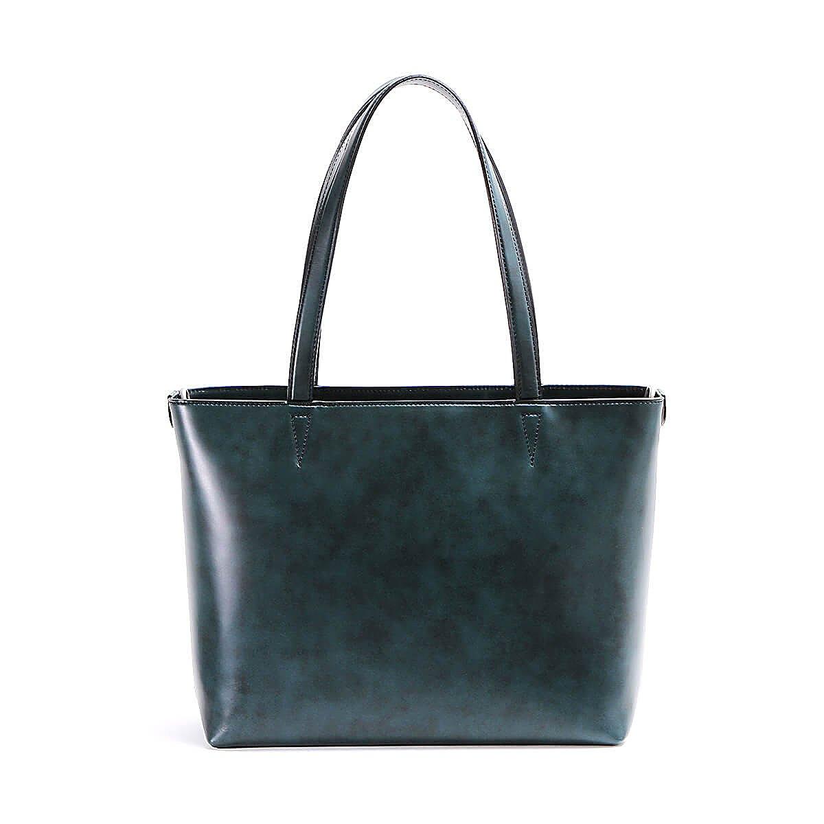 エルゴポック トートバッグ ミドルトート Waxed Leather(06 Series) 06-MT B0779QZN71 ネイビー ネイビー