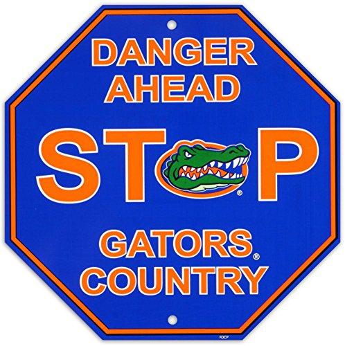 Fremont Die NCAA Florida Gators Stop Sign, 12