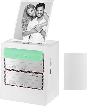 Aibecy Peripage A8 Mini Fotodrucker Handydrucker Mobiler Drucker Pocket Drucker Bt Thermodrucker Energienbank Funktion Clip Für Android Ios Smartphone Windows 203dpi Bürobedarf Schreibwaren